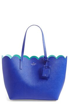 Kate Spade scalloped tote - gorgeous purse for Easter or spring!