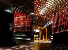 DIFFAs Dining by Design 2013 Entrance by Input Creative Studio & Clark Gaynor Interiors, New York exhibit design