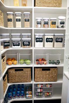Comment j'ai organisé mon garde-manger #comment #garde #manger #organise
