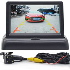 Car Monitor 4.3 inch Reversing image Rear view Parking System  Rear view Camera car electronice car detector  revere image