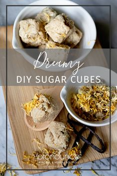 Dreamy DIY Sugar Scrub Cubes Recipe. You've just got to give these a try. A sugar scrub cube is solid in form with the convenience of a single-use dose, if you will, and small enough to travel with you. Similar to body scrubs and face scrubs they are created with sugar as the base ingredient for exfoliation. Why turbinado sugar?? It's all about the alpha hydroxy acid, baby!