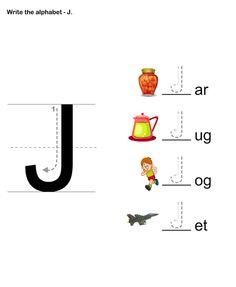 math worksheet : 1000 images about letter j pre school crafts on pinterest  : Letter J Worksheets Kindergarten
