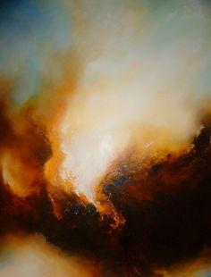 """Artist: Simon Kenny; Oil, 2012, Painting """"Vengeance"""""""