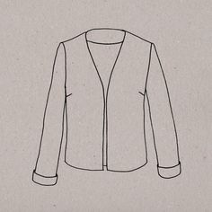 "Une ravissante veste ""tailleur"" qui transforme n'importe quel bas en tenue élégante ! This beautiful tailored jacket will transform any outfit into something special !    Patron en taille réelle Explications détaillées et illustrées Tailles : S, M, L et LL Guide des tailles"