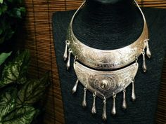 Traditional Hmong Necklace Ethnic Tribal Statement by CultureCross
