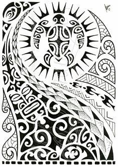 Tattoo design.