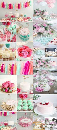 Candy Bar colores Pastel. Mesa de Dulces y Postres. 0d05e4337e5