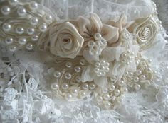 Hey, I found this really awesome Etsy listing at https://www.etsy.com/listing/201329179/ivory-bridal-pearl-beading-rose-applique