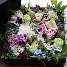Box Flower Arrangement – K's flower novo