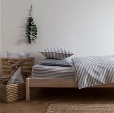 How cute is this bedding set? Perfect for creating a cosy, calm atmosphere