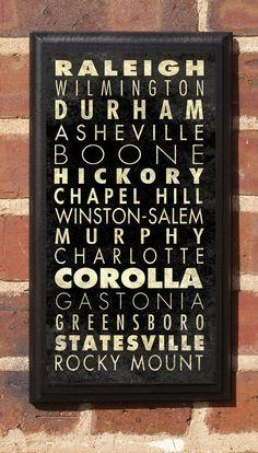 North Carolina :)