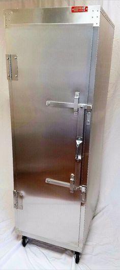 Commercial Food Warmer, HeatMax Pass Through, 2 Door Food Holding Cabinet