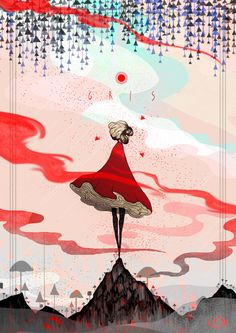 Gris game art William Higinbotham developed an analogue computer with vacuum tube at the Inspiration Art, Character Design Inspiration, Art Inspo, Art Anime, Anime Kunst, Game Concept Art, Fan Art, Video Game Art, Oeuvre D'art