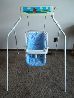 It's sad how much I want one of these...Vintage Graco Swyngomatic Wind Up Baby Swing #GracoSwyngomatic