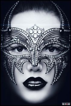 Google+ALINE DUFAULT Shared publicly  -  Yesterday 3:53 AM   Jeweled Mask, Fabulous