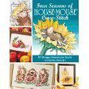 Four Seasons Of Cross Stitch - This House Mouse Designs book pairs easy-to-read black and white charts with detailed instructions that make it perfectly suited for intermediate to experienced stitchers. Lavish full-color photos accompany every design, while complete materials lists, stitch illustrations and a buyer's guide complete the publication. 48 all-color pgs.