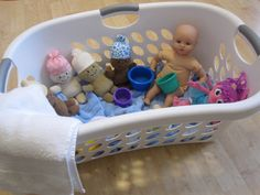 Pretend Play - Doll Bath Time , great for toddlers.