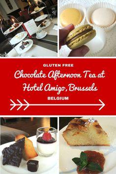 Chocolate Afternoon Tea At Hotel Amigo Brussels Gluten Free Restaurantslondon
