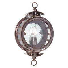 Charleston Barn Lantern, Heritage Bronze