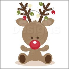 PPbN Designs - Rudolph with Lights (Free for Deluxe Members Only), $0.00 (http://www.ppbndesigns.com/products/rudolph-with-lights-free-for-deluxe-members-only.html)