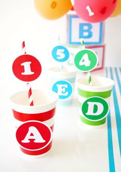 124 Best Abc Parties Images In 2018 Baby Shower Parties Diaper