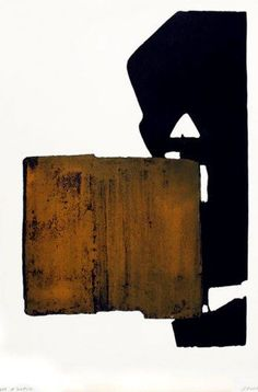 Pierre Soulages - Abstract Art - Informal Painting - Eau-forte XIX, 1970