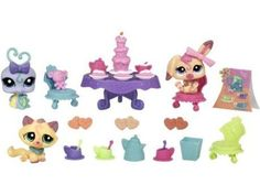 Littlest Pet Shop Figures Themed Playset Tea Party Teatime Fun