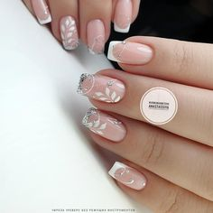 The variety of French manicure French Nails, French Manicures, Nail Manicure, Gel Nails, Iris Nails, Art Deco Nails, Manicure Pictures, Fancy Nail Art, French Manicure Designs