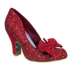 They remind me so much of the Ruby Slippers!! <3 Nick of Time | Irregular Choice