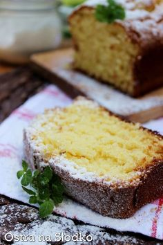 Polish Desserts, Polish Recipes, Just Desserts, Baking Recipes, Cake Recipes, Indian Cake, Banana Pudding Recipes, Sandwich Cake, Pumpkin Cheesecake