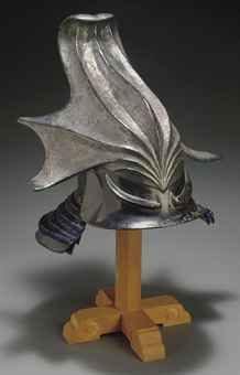 An Eccentrically Shaped Helmet (Kawari Kabuto), Edo period (19TH CENTURY), Japan