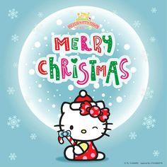 Source: sanriohellokittytown(fb). Christmas Cartoons, Christmas Cards, Merry Christmas, Christmas Decorations, Christmas Ornaments, Sanrio, Hello Kitty Christmas, Hello Kitty Wallpaper, Christmas Sweaters
