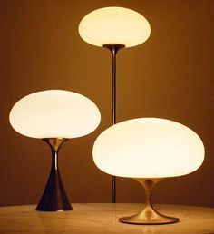 The Laurel Lamp Co made a variety of Mid Century Modern Table and Floor lamps in the 1960s. Now, if you search, there are replacement shades made specifically for the Laurel Brand lamps.