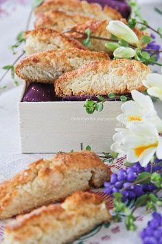 Ricetta biscotti morbidi alle mandorle. Almond soft cookies italian recipe. DolcélaVita food_photography