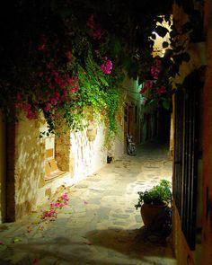 Alley Crete greece