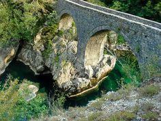 Danilov's Bridge Over Mrtvica Gorge, Montenegro