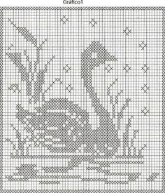 patrones de animales en crochet o punto de cruz