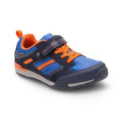 Stride Rite Made 2 Play Dwyer Toddler Boys' Sneakers, Boy's, Size: 5 T Wide, Blue (Navy)