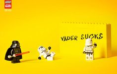 Funny & creative Lego Star Wars advertisements