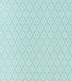 Keepsake Calico Fabric- Beloved Small Damask Sky & keepsake calico fabric at Joann.com