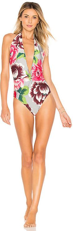 466af352d1e Salinas Betsy Cute one piece floral swim suit! #cuteonepieceswimsuits Cute One  Piece Swimsuits,