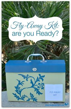 Fly-Away Kit: are yo