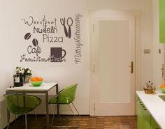 #Wandtattoo Sprüche - Wandworte No.UL925 KüchenDoodles Drei #Küche #kitchen #essen #food #kochen #Appetit