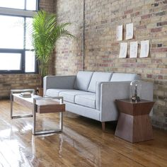 The Adelaide Sofa is a modern sofa that features a classic club sofa frame that harkens back to Mid-century archetypes. Furniture Direct, Furniture Outlet, Furniture Making, Living Room Furniture, Living Room Decor, Smart Furniture, Mid Century Modern Furniture, Modern Sofa, Contemporary Furniture