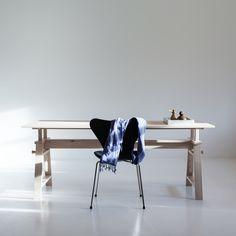 Astructure pöytä 190, saarni ryhmässä Huonekalut / Pöydät / Ruokapöydät @ ROOM21.fi (Astructure10)
