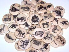 Hey, I found this really awesome Etsy listing at https://www.etsy.com/listing/101817055/10-vintage-aged-ephemera-animals-1-inch