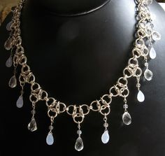 Chain mail necklace from Corvus