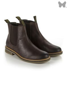 Barbour Men's Farsley Chelsea Boots - Brown MFO0244BR51
