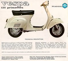 Vespa small-frame  pink or mint please....