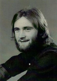 young Phil Collins. (made such amazing classic hits